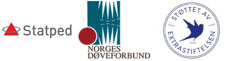 Logo Statped, NDF og Ekstrastiftelsen